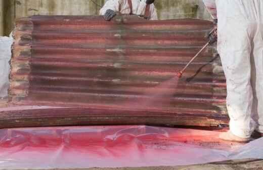 Eliminación de amianto - Barcelona