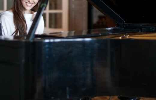 Clases de piano - Notas