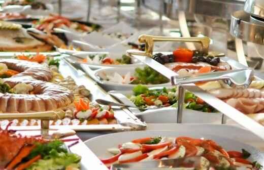 Catering de eventos (servicio completo) - Noche