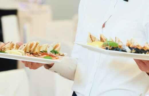 ¿Cuál es el precio de Entrega de catering? Fixando