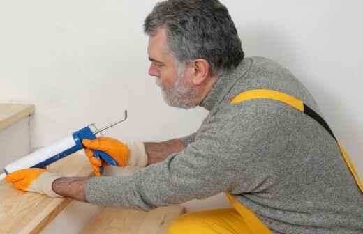 Adición o remodelación de escaleras - Revestimiento