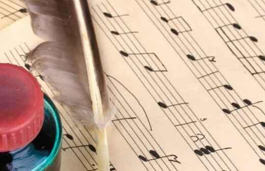 Clases de composición musical - Compositor De Canciones