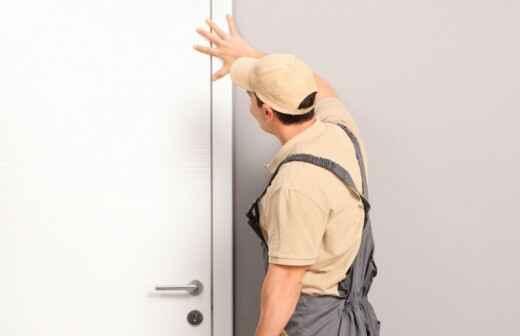 Reparación de puertas - Barniz