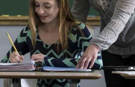 Tutorías de matemáticas de escuela secundaria - Estadística