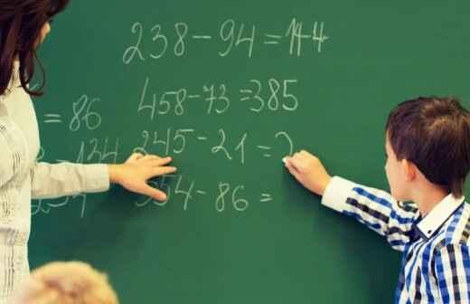 Tutorías de matemáticas de escuela primaria