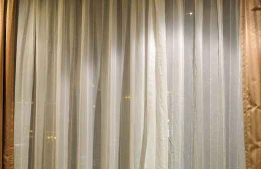 Drapery Installation or Replacement - Valance