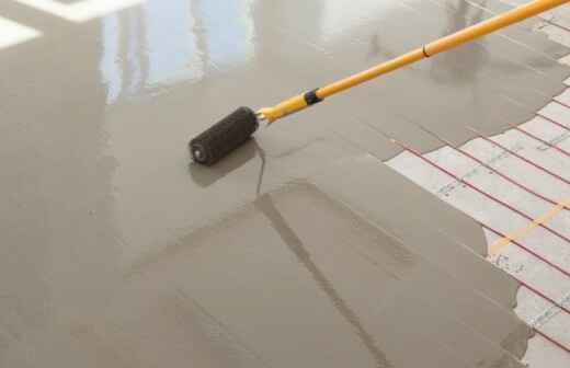 Heated Floor Installation