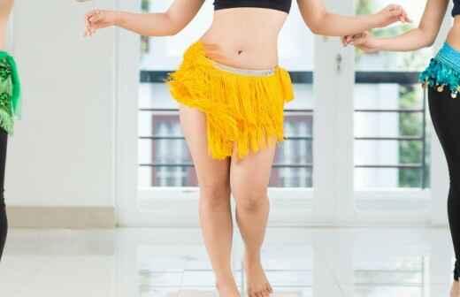 Belly Dance Lessons - Poledance