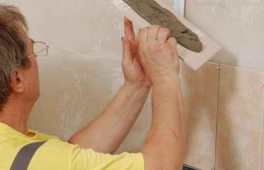 Kitchen Tiling - Decomposed