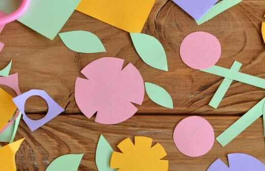 Craft Party Planning - Floral Arrangements