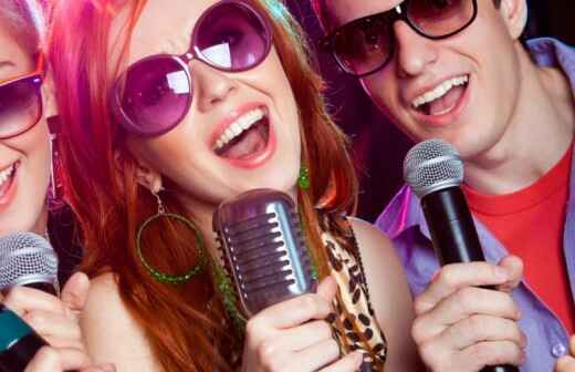 Karaoke Machine Rental - Decor