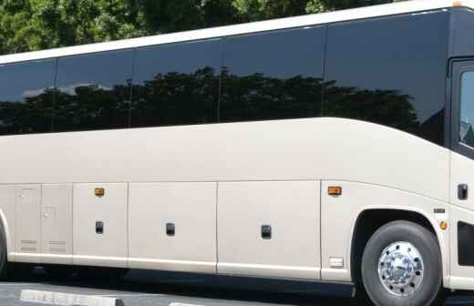 Charter Bus Rental - Driving Service