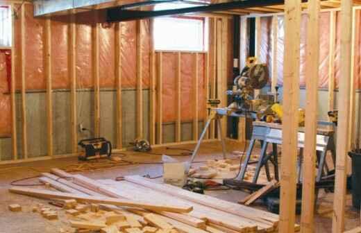 Basement Remodel - Remodelling