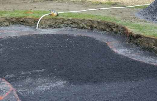 In-Ground Swimming Pool Construction - Excavators