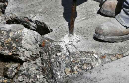 Concrete Removal - Stonework