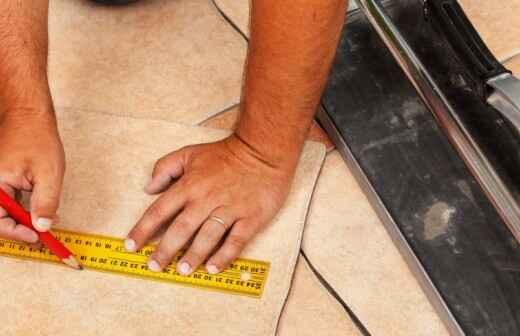 Tile Repair - Regrout
