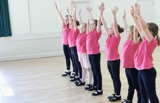 Tap Dance Lessons - Pole Dance