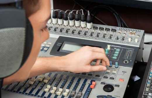 Audio Equipment Rental for Events - Tents