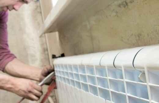 Instalación o reemplazo de radiadores