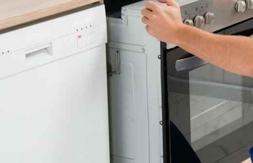 Reparación o mantenimiento de hornos y estufas