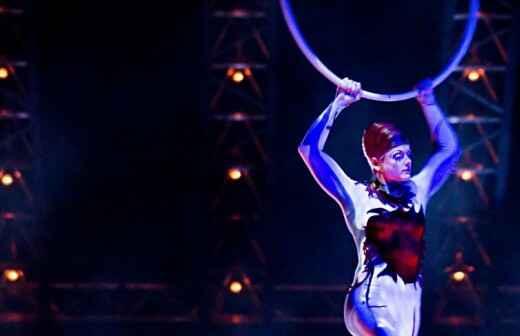 Actuación circense - Contorsionistas