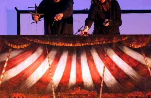 Entretenimiento con marionetas - Circo