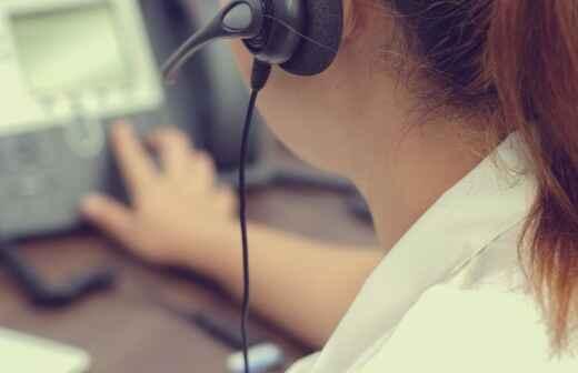 Servicios de sistemas telefónicos