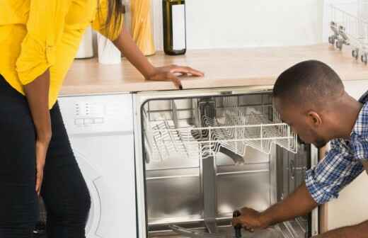 Reparación o mantenimiento de lavavajillas
