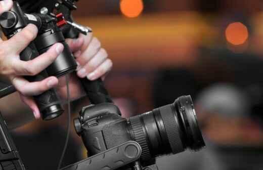 Alquiler de equipos de vídeo para eventos - Etiqueta