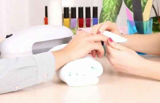 Manicure and pedicure (for men)
