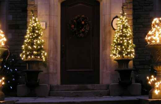 Holiday Lighting Installation and Removal - Cookie