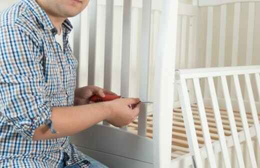 Crib Assembly - Caning