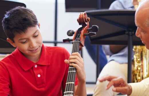 Cello Lessons (for children or teenagers)