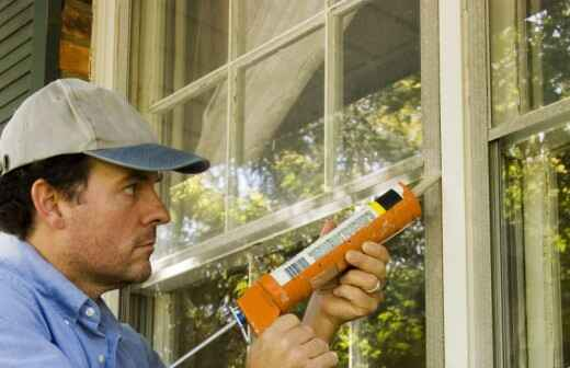 Weatherization - Caulking