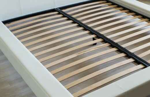 Bed Frame Assembly - Caning