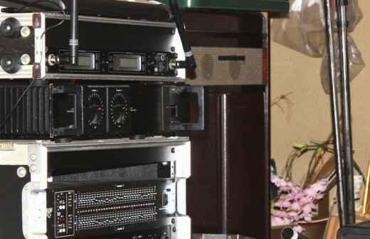 AV Equipment Rental for Weddings - Tents