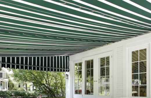 Awning Installation - Tent