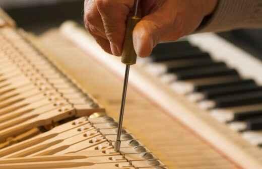 Piano Tuning - Pin-Up