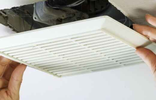 Bathroom Fan Installation or Replacement