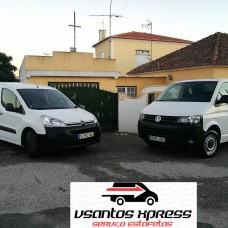 VSantos Xpress - Entregas e Estafetas - Lisboa