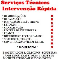 PAULO TANGANHO Serviços Técnicos  de Intervenção  Rápida . - Fixando Portugal