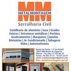 Metalmontagem Serralharia Civil Lda - Vidraceiros - Setúbal
