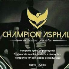 Champion Asphalt Unip. Lda - Transportes e Guias Turísticos - Aveiro