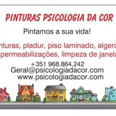 Psicologia da Cor-Pinturas - Isolamentos - Leiria