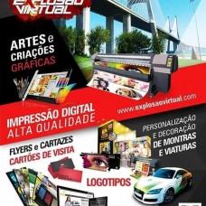 Explosão Virtual - Impressão - Lisboa