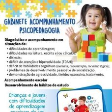 Gabinete Acompanhamento Psicopedagógico e Terapia Fala - Terapia da Fala - Lisboa