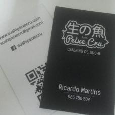 Sushi Peixe Cru - Catering de Casamentos - Torres Vedras