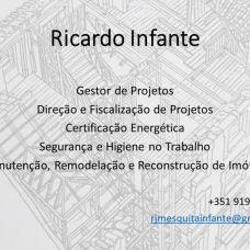 Ricardo Infante - Certificação Energética de Edifícios - Souselas e Botão
