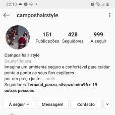 Camposhairstyle - Cabeleireiros e Barbeiros - Santarém