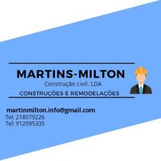 Martins milton construção civil LDA - Empreiteiros / Pedreiros - Lisboa